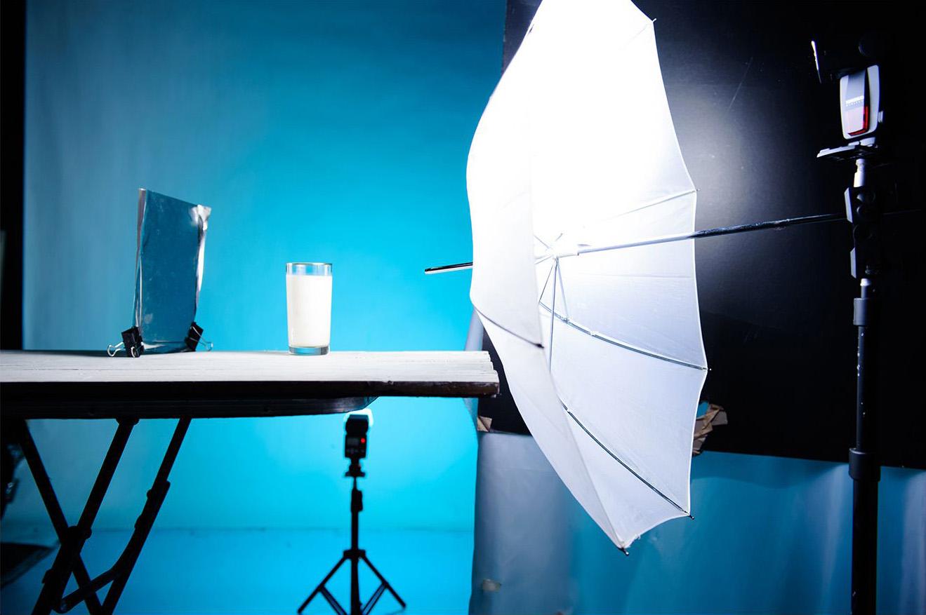Splash photograhy setup